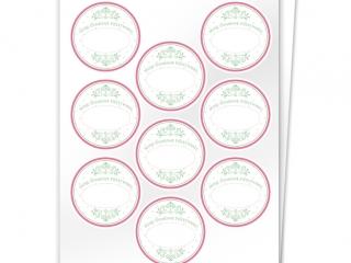 Etykiety na przetwory seria C zestaw 7