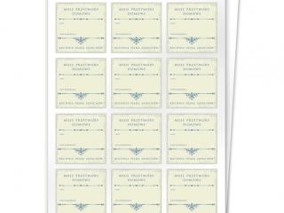 Etykiety na przetwory seria C zestaw 6