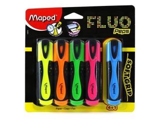 Zakre¶lacz MAPED Fluo Peps 4+1