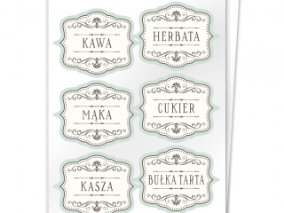 Etykiety na pojemniki z produktami sypkimi 2
