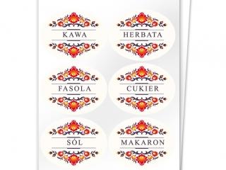 Etykiety na pojemniki z produktami sypkimi 3