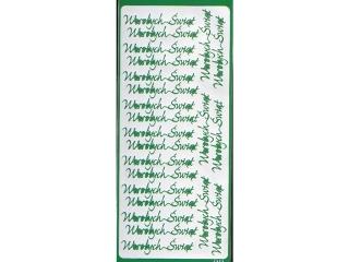 Naklejka ozdobna WESO£YCH ¦WI¡T 1323 zielony