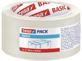 Ta¶ma pakowa TESAPACK Basic 66m x 50mm - transparent