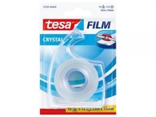 Ta¶ma biurowa TESAFILM crystal 33m x19mm + dyspenser easy cu