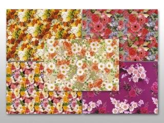 Papier ozdobny DELTA   70x100 kwiaty