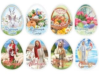 Kartki ¶wi±teczne  B6 jajko Wielkanoc