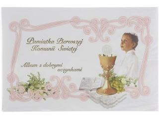 Album Pami±tka I Komunii Swiêtej - z dobrymi uczynkami 5149