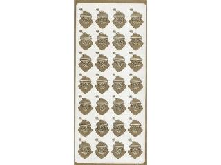 Naklejka ozdobna GWIAZDORKI  1660z³oty
