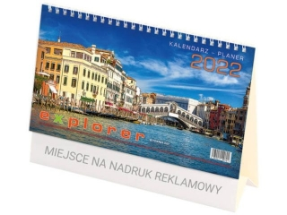 Kalendarz biurowy TELEGRAPH Explorer 2021