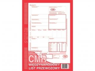 Druk 800-1N CMR Miêdzynarodowy list przewozowy (numerowany)