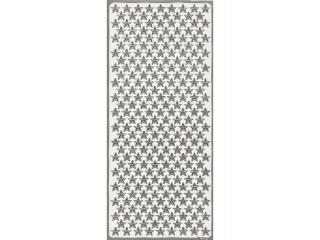 Naklejka ozdobna GWIAZDY MA£E A¯UROWE 1783 srebrne