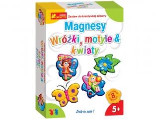 Zestaw kreatywny RANOK Magnesy - Wro¿ki, motyle i kwiaty
