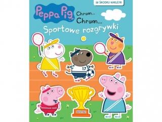Ksi±¿eczka MSZ ¦winka Peppa- Chrum- Sportowe rozgrywki
