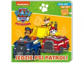Ksi±¿eczka MSZ Psi Patrol- Kto to, co to - Jedzie Psi Patrol
