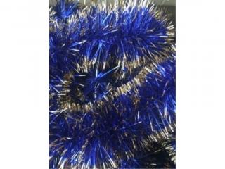 £añcuch choinkowy 100 mix (niebiesko-z³oty) [opakowanie=30sz