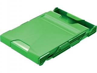Szuflada HELIT Mobil zielona - 2 szufladki