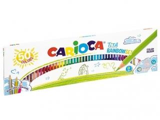 Kredki o³ówkowe CARIOCA Tita 50 kolorów