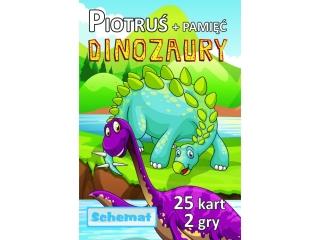 Karty Piotru¶+Pamiêæ SCHEMAT Dinozaury