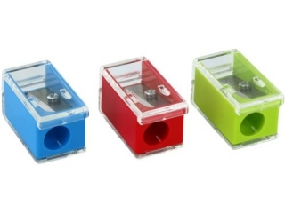 Temperówka KUM kostka z pojemnikiem mikro pop mix kolorów