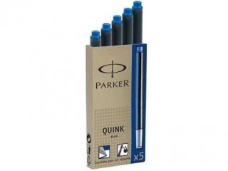 Naboje atrametowe PARKER 5szt. niebieskie