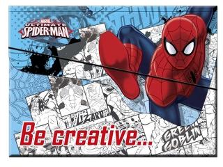 Zestaw kreatywny w teczce BENIAMIN Spider-Man