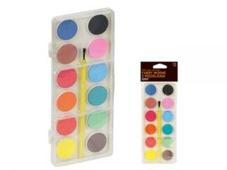 Farby akwarelowe GRAND 12 kolorów HURT