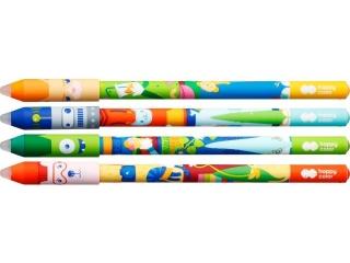 D³ugopis usuwalny HAPPY COLOR Cool Gang, 0,5 mm, niebieski,