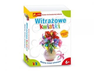 Zestaw kreatywny RANOK Witra¿owe kwiatki