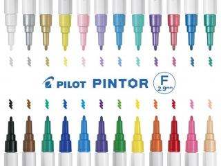 Marker PILOT Pintor F 1mm mix kolorów