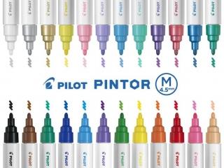 Marker PILOT Pintor M 1,4mm mix kolorów