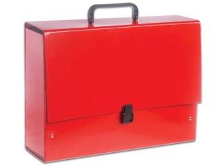 Teczka z r±czk± PENMATE B4 Jumbo - czerwona pastelowa