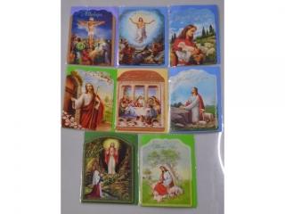 Kartki karnet B6 brokat Wielkanoc