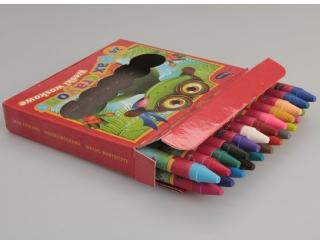 Kredki woskowe 24 kolorów REXUS