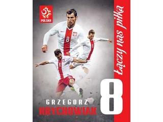 PLAKAT KIBICA 40x50cm PZPN Nr.1 Grzegorz Krychowiak