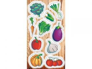 Naklejki RANOK Warzywa