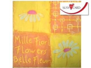 Serwetki HERLITZ Susy Card kwiatki