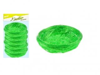 Sizal MFP gniazdo 7cm 6szt zielone