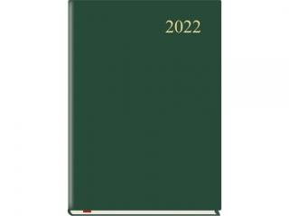 Kalendarz ksi±¿kowy MP A5 Firmowy 2021 - ciemnozielony