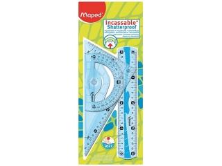 Zestaw kre¶larski MAPED Flex mini linijek elastycznych 20cm.