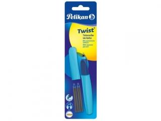 Pióro kulkowe PELIKAN Twist R457 jasnoniebieskie +2 naboje