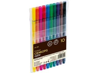 Cienkopis klasyczny GRAND GR-280 10 kolorów HURT
