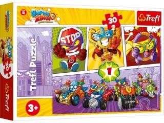 Puzzle   30 TREFL Super Zings
