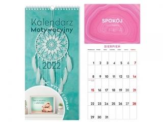 Kalendarz ¶cienny INTERDRUK Motywacyjny 22x46 Cytaty