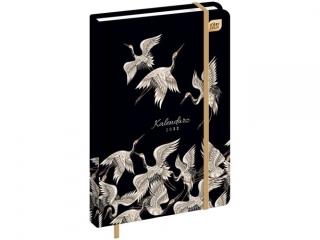 Kalendarz ksi±¿kowy INTERDRUK A5 384k. Matallic Heron