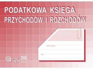 Druk K-2u Podatkowa ksiêga przychodów i rozchodów