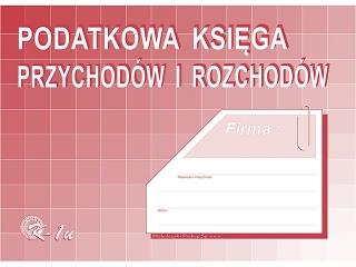 Druk K-1u Podatkowa ksiêga przychodów i rozchodów K-1u