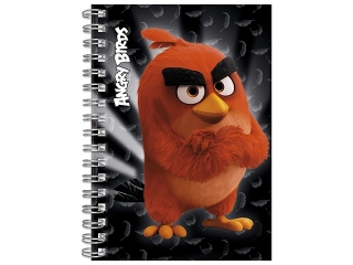 Notes spiralny A6 DERFORM Angry Birds