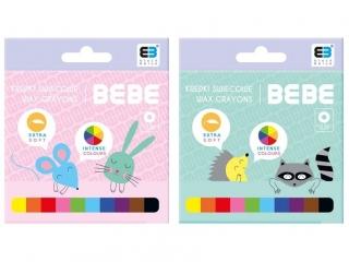 Kredki ¶wiecowe INTERDRUK BxB Kids pastel 10 kolorów