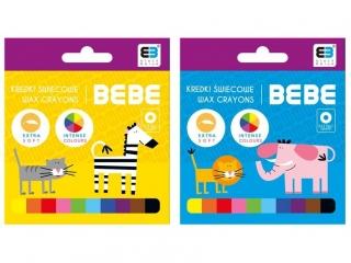 Kredki ¶wiecowe INTERDRUK BxB Kids 10 kolorów