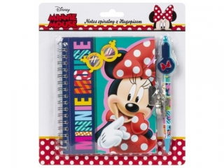 Notes spiralny z d³ugopisem DERFORM Minnie 23